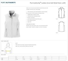 Port Authority Fleece Jacket Size Chart Embroidered Full Zip Fleece Jacket Ladies