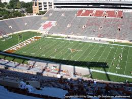 Dkr Texas Memorial Stadium Seating Chart Darrell K Royal Texas Memorial Stadium View From Upper