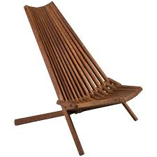 fabulous teak folding chairs on mid century chair at 1stdibs with regard to design 1