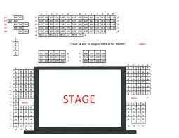 Park Theater Mcminnville Tn Seating Chart Seating Charts Cumberland County Playhouse