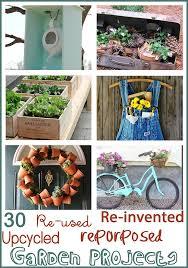 junk filled garden ideas