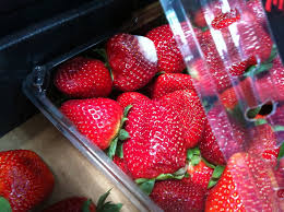 Image result for box of strawberries