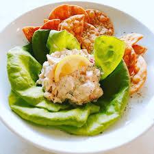 Seafood Salad Appetizer: a cold salad ...
