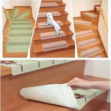 carpet protector mats stairs cartoon stair self adhesive non slip dark safety floor mat for carpet protector mats stairs
