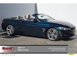 black bmw convertible 2015.  2015 2015 4 Series 435i Convertible  Midnight Blue Metallic  OysterBlack  Photo 1 Throughout Black Bmw V