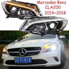 Mercedes Cla Led Lights Car Bemper Headlamp For Mercedes Benz Cla Headlight Cla200 All In Led 2014 2016 2017 2018y Car Accessories For Gla Fog Light