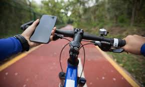 Image result for texting while biking