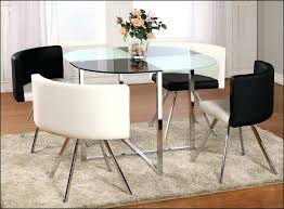 circle dining table small glass dining table set luxury the super real glass circle dining table