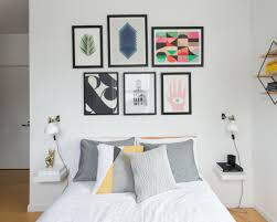 Graphy Bedroom A Graphic Apartment For A Facebook Designer Homepolish