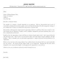 31 Cover Letters Examples Cover Letter Sample Uva Career Center
