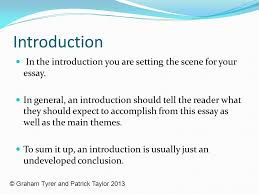 essay structure by tom s bar ppt video online  2 introduction