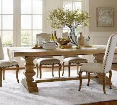 smart design pottery barn white dining table banks reclaimed wood extending