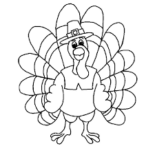 turkey coloring pages printable free.  Turkey A Turkey Dressed Up Like A Pilgrim Free Coloring Printable To Turkey Pages U