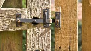 fence gate. support your garden gate post for years of service and beauty fence