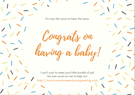 New Baby Congrats New Baby Congratulations Ecards Someone Sent You A Greeting