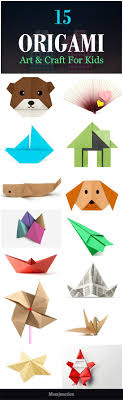 Top 15 Paper Folding Or Origami Art & Craft For Kids: Your kid can enjoy