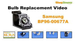 samsung tv bulb. samsung bp96-00677a bulb replacement guide for dlp tv lamp tv 5