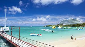 Okinawa kariyusi beach resort ocean spa covers almost 10000 square yards, from which you can enjoy the enchanting vista of the east china sea, which is especially gorgeous during the sunset. Hotel Intercontinental Ana Manza Beach Resort Japan At Hrs With Free Services