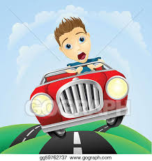 car driving fast clipart. Perfect Fast Young Man Driving Fast Classic Car Throughout Car Driving Fast Clipart