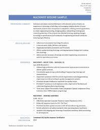94 Heavy Equipment Operator Resume Sample Cnc Machine Operator