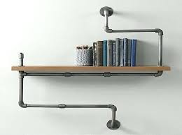wall mounted shelving systems industrial wall mounted pipe shelf envy in shelving idea industrial wall shelves to use in every shelf wall mount wall hung