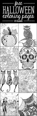 Free online printable halloween coloring pages for kids of all ages. Free Halloween Adult Coloring Pages U Create