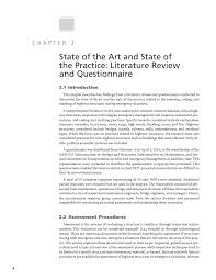 Chapter 2 - State Of The Art And State Of The Practice: Literature ...