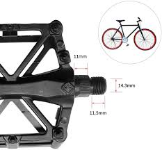<b>Aluminum</b> Antiskid <b>Bicycle</b> Flat <b>Pedals</b> for Mountain <b>Bikes</b>,Road ...