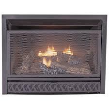 procom 28 75 in w 26 000 btu black vent free dual burner