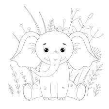 Elephants are one of the most popular subjects of coloring sheets. Elephant Coloring Pages 12 Free Fun Printable Elephant Coloring Pages For Kids Adults Printables 30seconds Mom