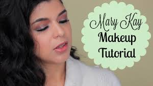 mary kay makeup tutorial glitter spring marykaywednesday