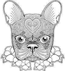 Flower Coloring Pages For Adults Printable Stain Dog
