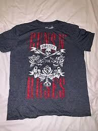 Guns N Roses Appetite For Destruction T Shirt Bleached Mens