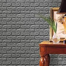 Buy 3D Brick Wall Stickers, Hmlai PE ...