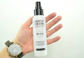 make up for ever mist fix setting spray setting spray makeup setting spray