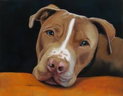 commissioned dog painting