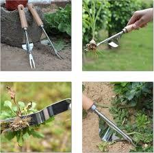 2 pack garden weeder hand tool weeding