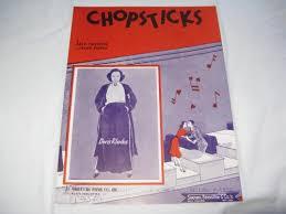 CHOPSTICKS DORIS RHODES 1939 SHEET MUSIC SHEET MUSIC FOLDER 417 -  CHOPSTICKS DORIS RHODES 1939 SHEET MUSIC SHEET MUSIC FOLDER 417 -  Amazon.com Music