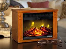 tiny amish fireplace