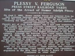 plessy v ferguson essay plessy v ferguson gcse law marked by plessy vs ferguson summary essay order essay cheap