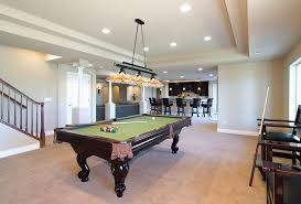 basement pool table. Interesting Basement Basement Pool Table And Bar To M