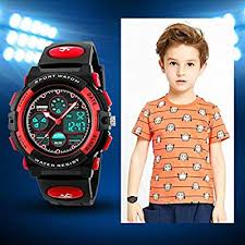 eYotto Kids Sports Watch Waterproof Boys Multi ... - Amazon.com
