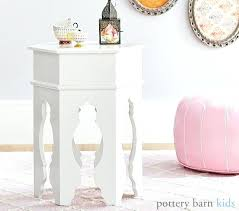 moroccan bedside table side table pottery barn white moroccan bedside table
