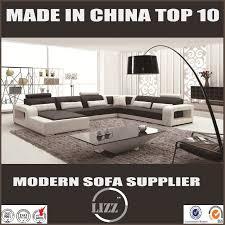 china new design high quality living room leather sofa lz 8001b china leather sofa furniture