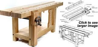 Build A Hybrid Roubo Workbench  FineWoodworkingRoubo Woodworking Bench
