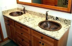 bathroom granite countertops with sink double bathroom vanities with granite bath vanity tops sink counter rustic