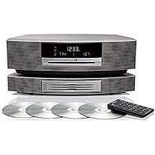 bose music system. bose wave music system with multi-cd changer -- platinum white e