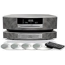 bose dab radio. bose wave music system with multi-cd changer -- platinum white dab radio