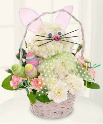 Bunny Basket: A unique floral design - This fun, unique Easter Bunny floral  arrangement is the perfect gift for the young and young at heart; ...
