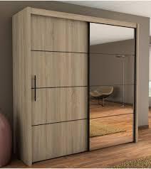 brilliant black bedroom furniture lumeappco. Malibu Sliding Door Wardrobe In Oak 200cm Brilliant Black Bedroom Furniture Lumeappco E